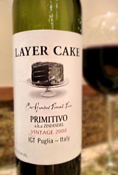Layer Cake Wine Primitivo