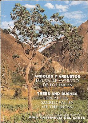Arboles y Arbustos del Valle Sagrado de los Incas Book