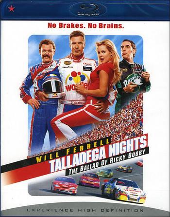 Talladega Nights The Ballad of Ricky Bobby 2006 Hindi Dubbed Dual Audio BRRip 300mb