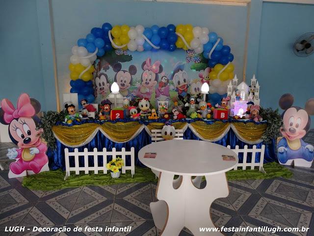 tema Disney Baby para decoração de festa para aniversário de meninos