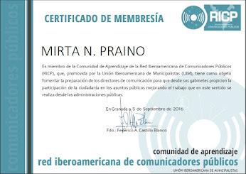 Certificado de Membresia UIM