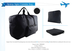 "CENTRUM LINK - ""RIPSTOP NYLON FOLDABLE BAG"" - FB10005"