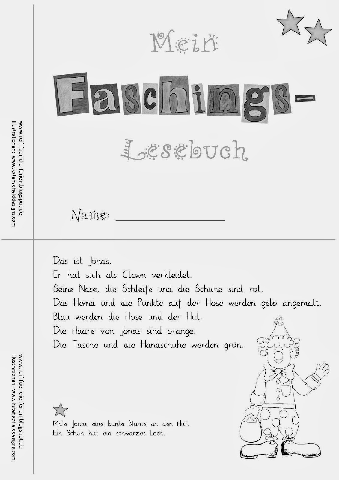 Faschings - Lesemini