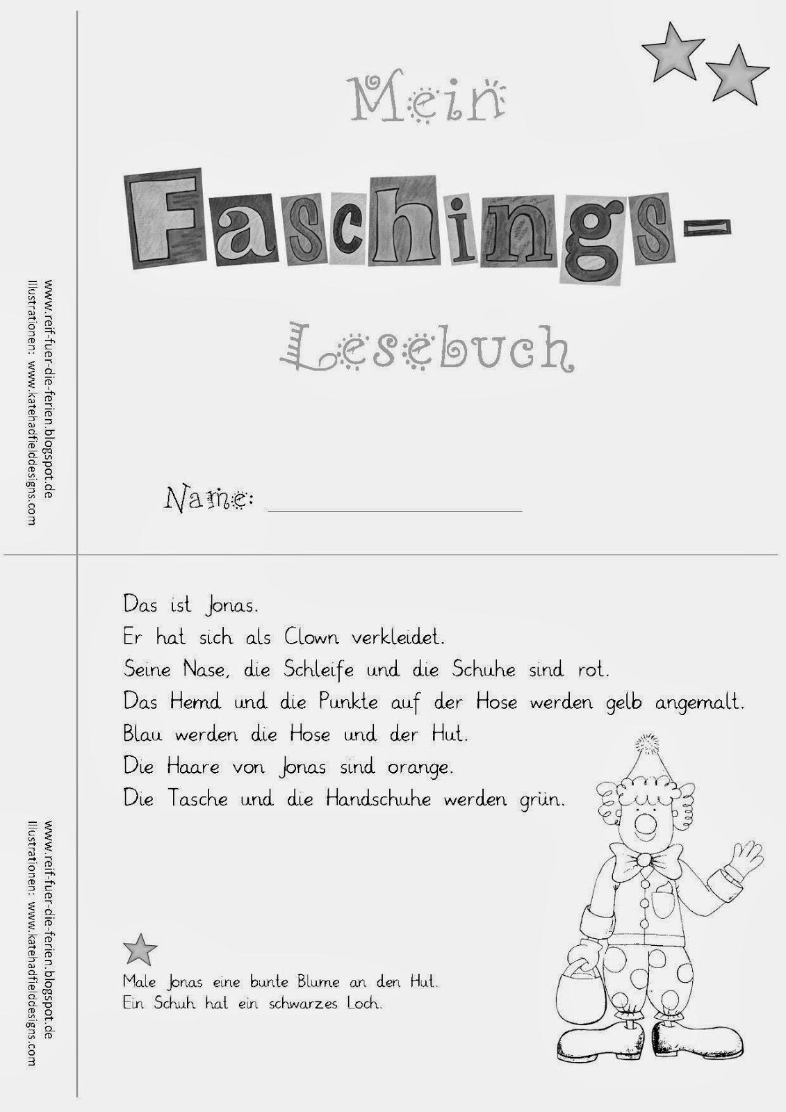 Faschings - Lesemini