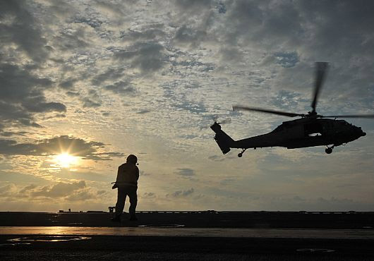 Australia, Japan and US Naval Forces Conduct ASW Exercises