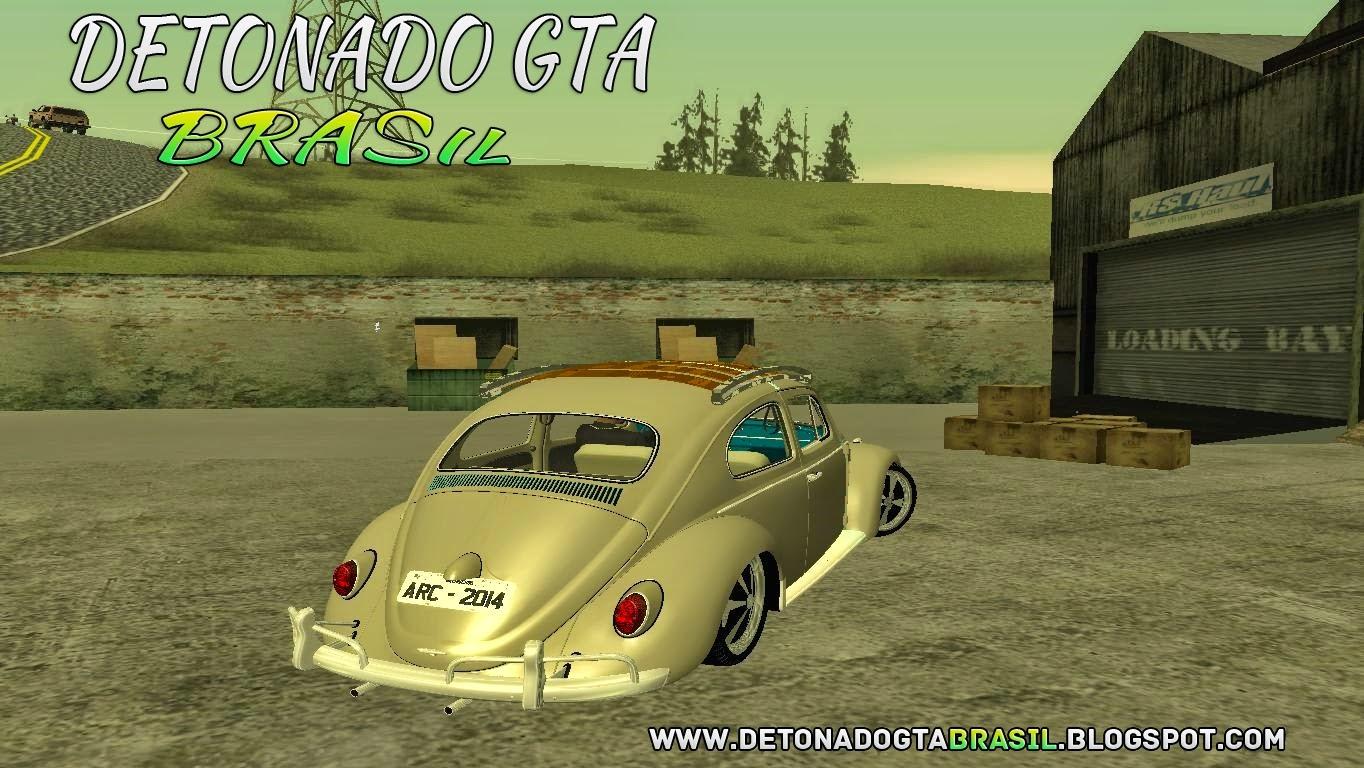 GTA SA - Volkswagen Fusca 1974