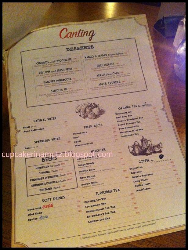 Kuliner Jogja Canting Resto