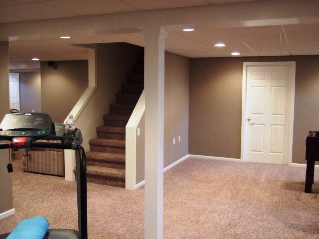Wall painting colors for basement - Finished basements ideas ...