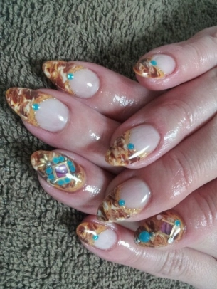 Cool-Nail-Art-Designs-for-Fall-2012-11