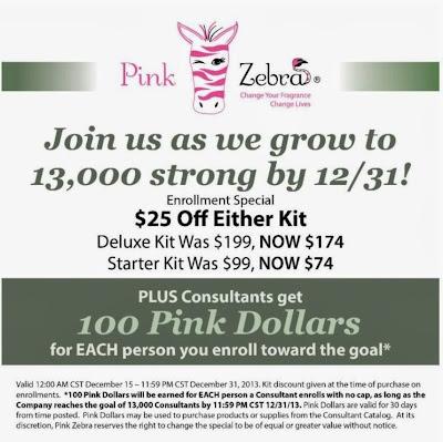 Pink Zebra December Kit special image