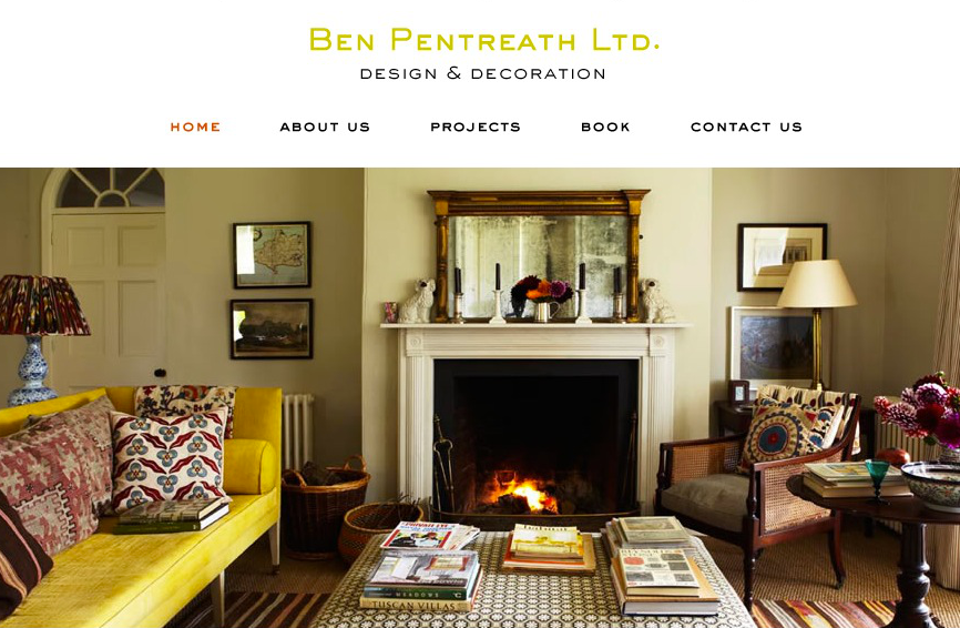 Ben Pentreath Interiors via Meet Me in Philadelphia