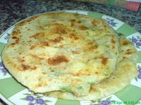 Roti Paratha Kentang   by   Newbie123@MyResepi.com
