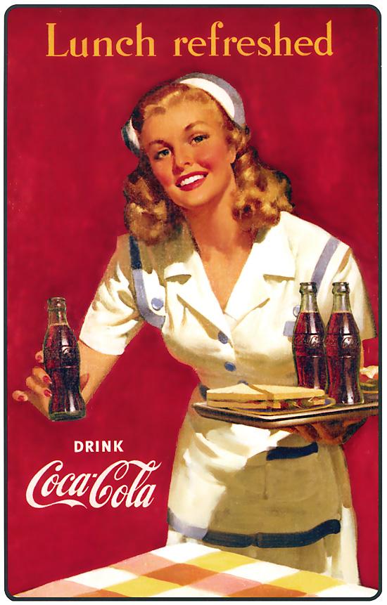 coca cola 6 coke pinterest coca cola vintage et coca cola vintage. Black Bedroom Furniture Sets. Home Design Ideas