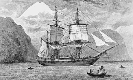 HMS BEAGLE LIBRARY GOES ON-LINE