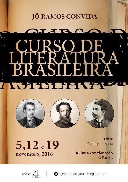 Curso de Literatura Brasileira em Lisboa