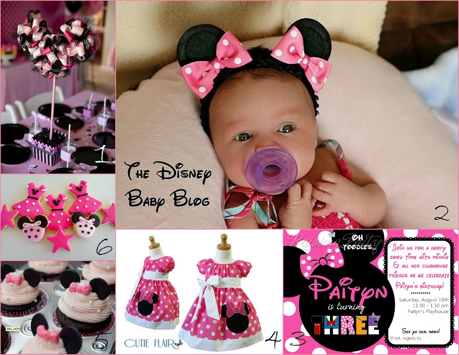 Minnie mouse 1st birthday party ideas