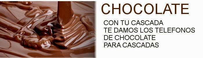 telefono de proveedores de chocolate