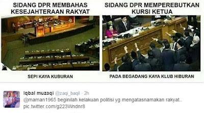 Meme sidang DPR