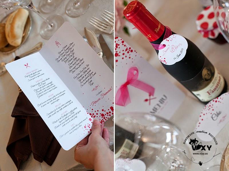 meniu nunta personalizat, papetarie eveniment, papetarie personalizata, marturii nunta, place carduri nunta, design personalizat eveniment, numere masa deosebite