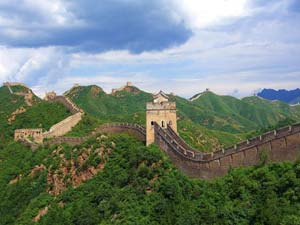 The protecting wall of china