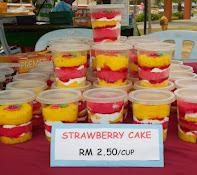 Kek Strawberry