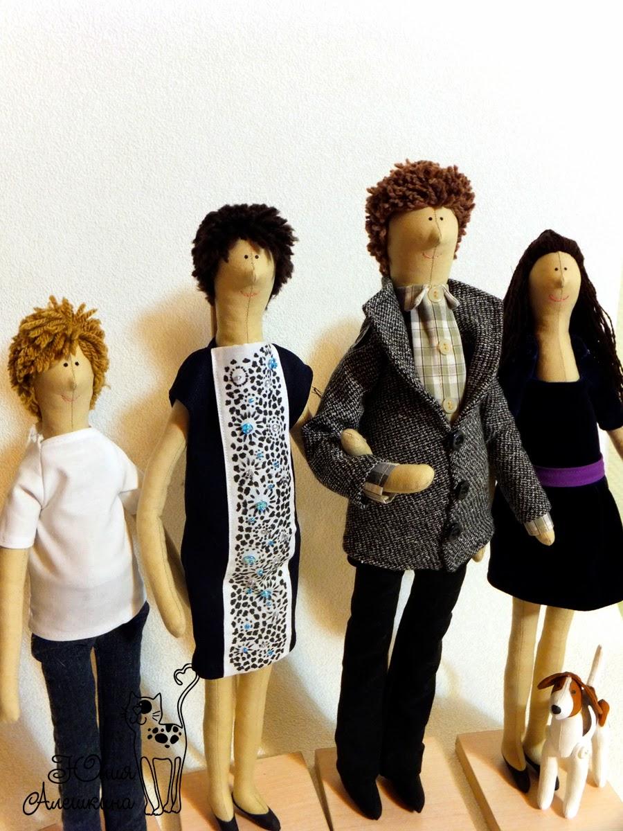 куклы из ткани по фото