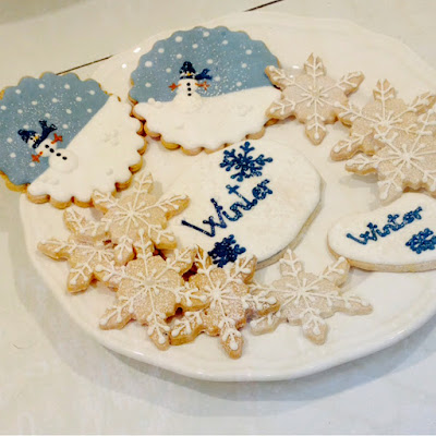 Snowman Cookies Salzburg Austria Little Owl Lane