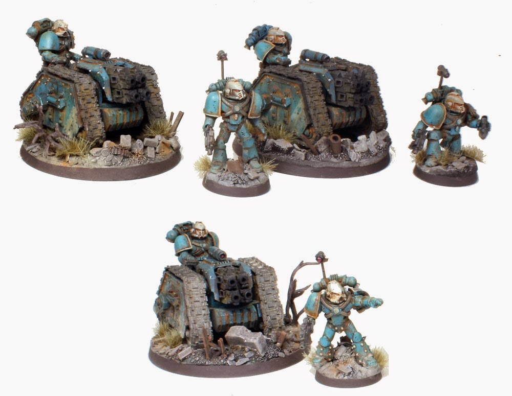 Pre Heresy Alpha Legion Rapiers with Heavy Bolters