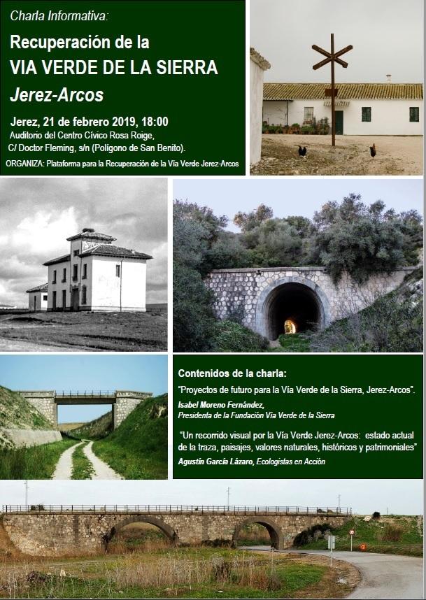 Charla:  VÍA VERDE JEREZ-ARCOS