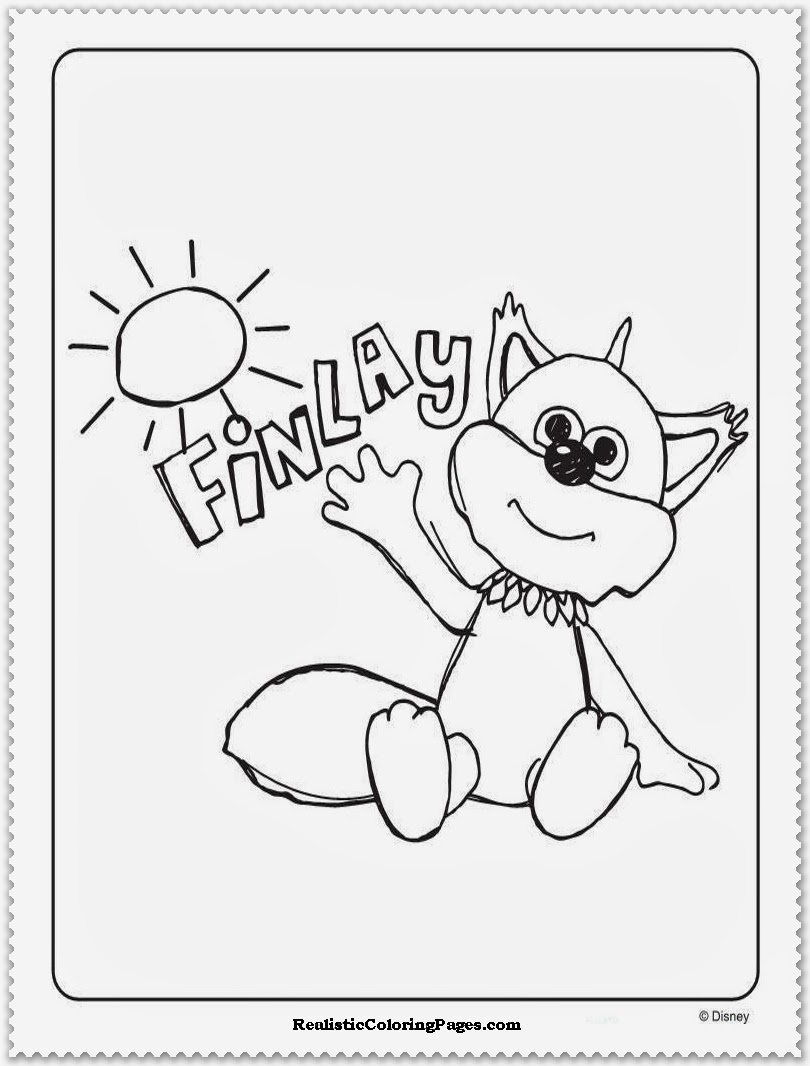 timmy time coloring pages finlay
