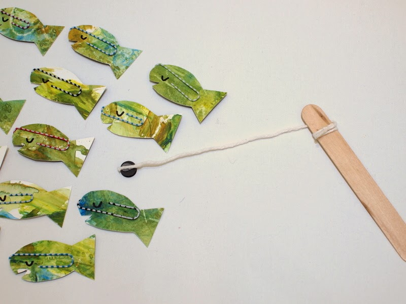 Play with Easy to Make DIY Fishing game