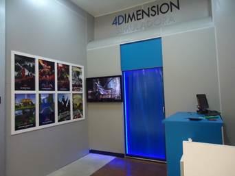 Cinema 4D no Boulevard São Gonçalo