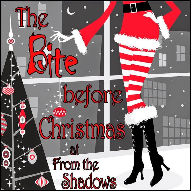 The Bite Before Christmas Giveaway at From the Shadows: Win Blood and Mistletoe holiday Urban Fantasy by E.J. Stevens