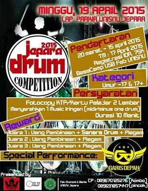 Jepara Drum Competition 1 Disnatalis UNISNU Jepara.