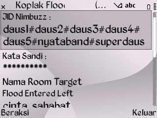 Koplak Flood Enter Left Room Nimbuzz for Java Symbian Screenshot0042