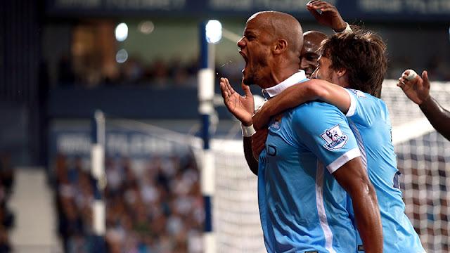 Manchester City goleia WBA e começa a Premier League com tudo