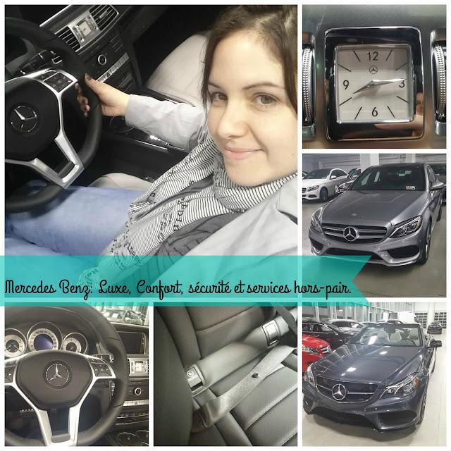 Mercedes Benz: Luxe, Confort, sécurité et services hors-pair