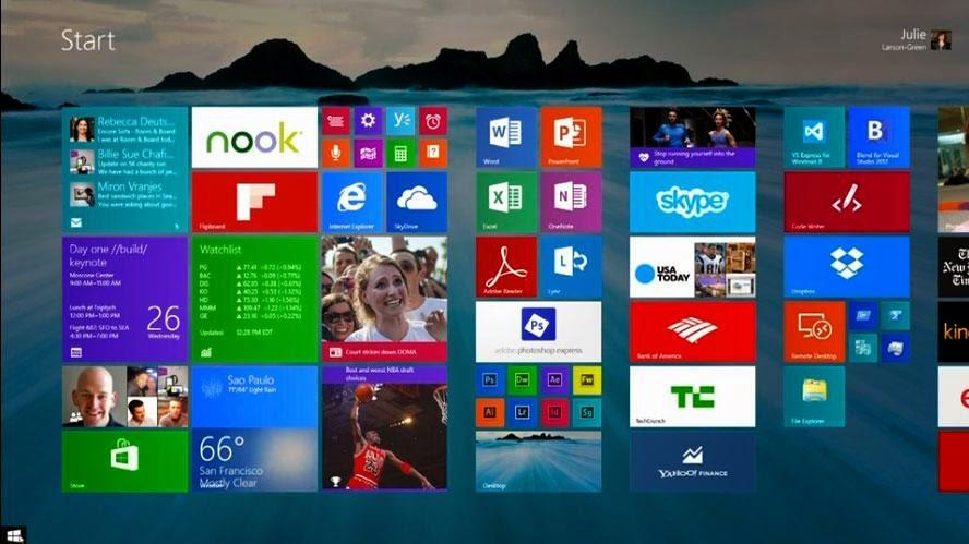 Download / Upgrade windows 8.1