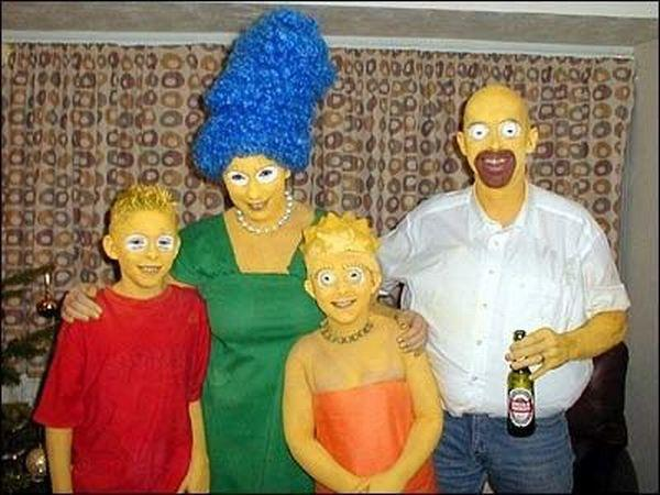 The real Simpson family..