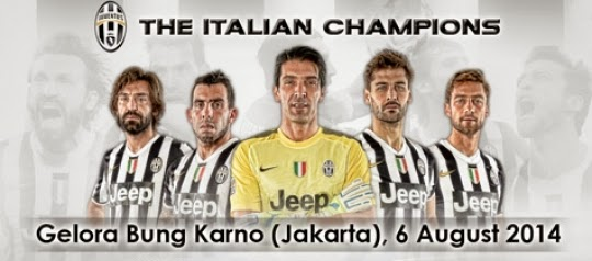 Inilah harga tiket Indonesia Selection vs Juventus 6 Agustus 2014