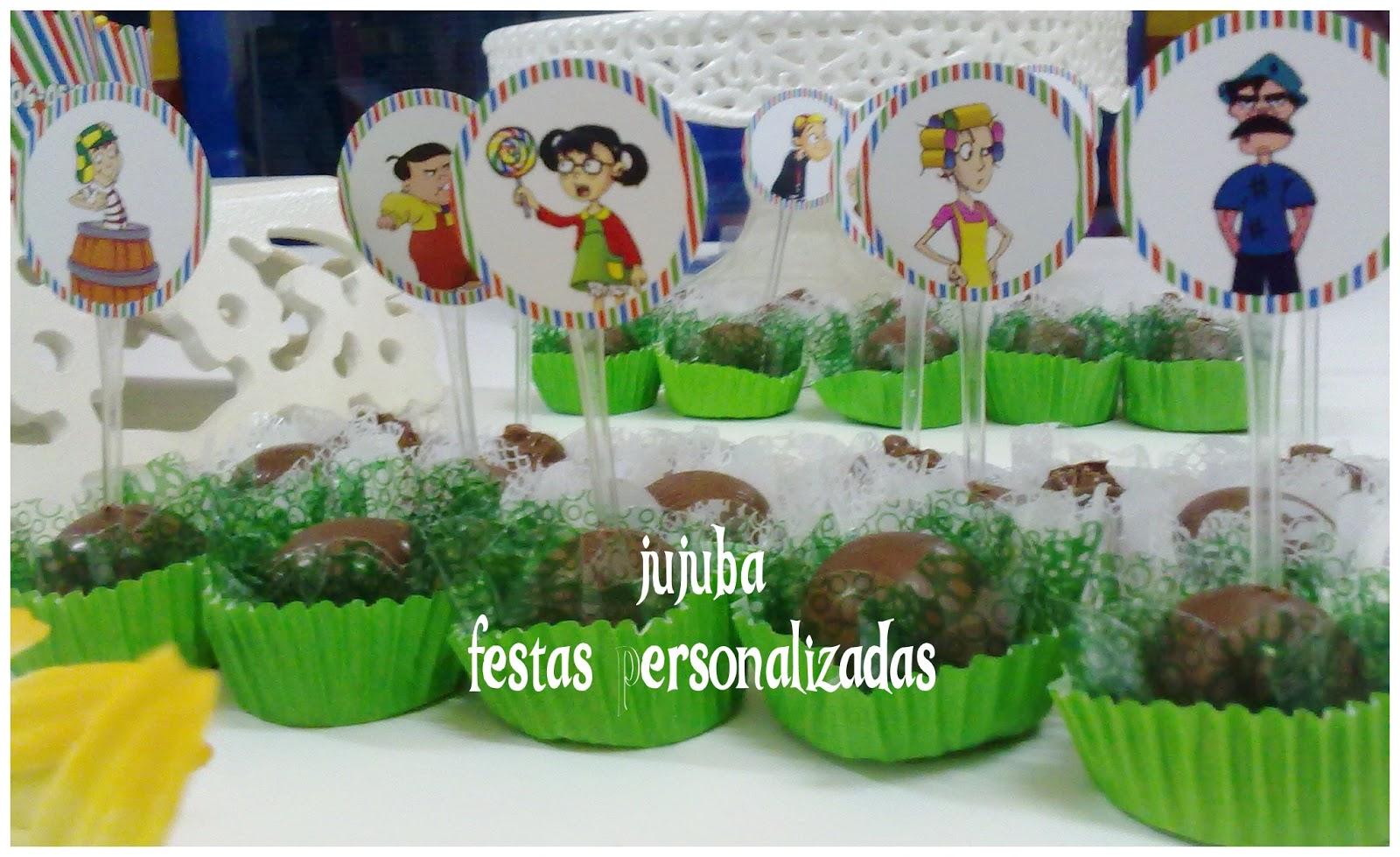 Jujuba Festas Personalizadas Decoração Chaves e sua turma