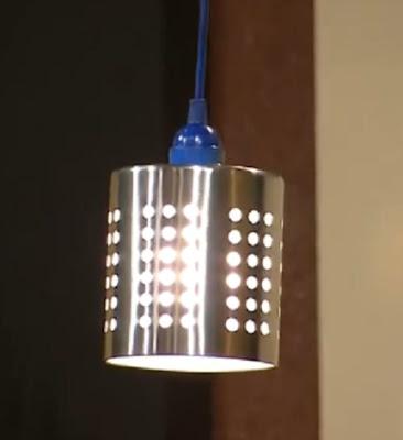 Shabby Nest:  Industrial Style Pendant