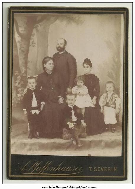 Familie numeroasa din Turnu Severin vechi
