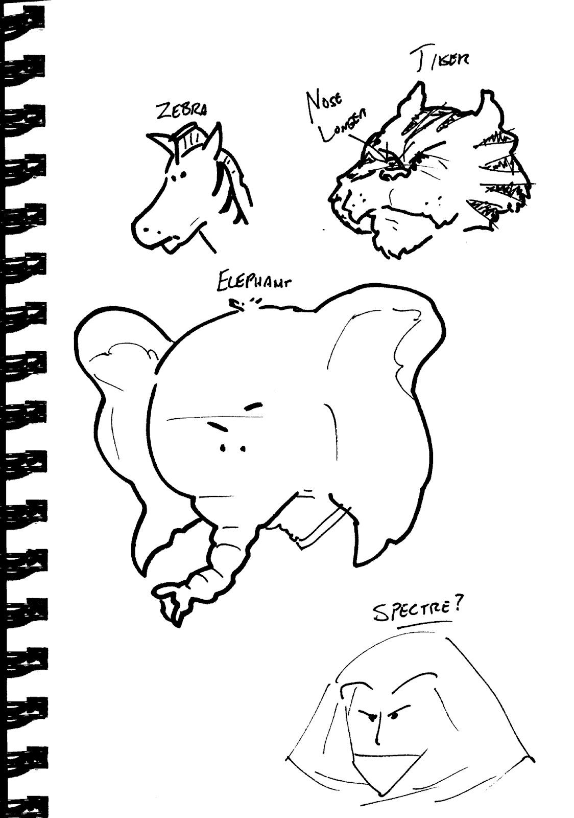 Inside Jeff Overturf's Head: Uncle Jeffy's Sketchbook! - 8 ...