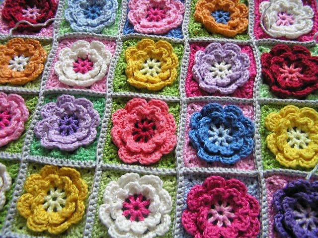 Dotty Textiles Cool Crochet Blankets
