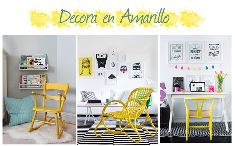 Amarillo ideas decoracion