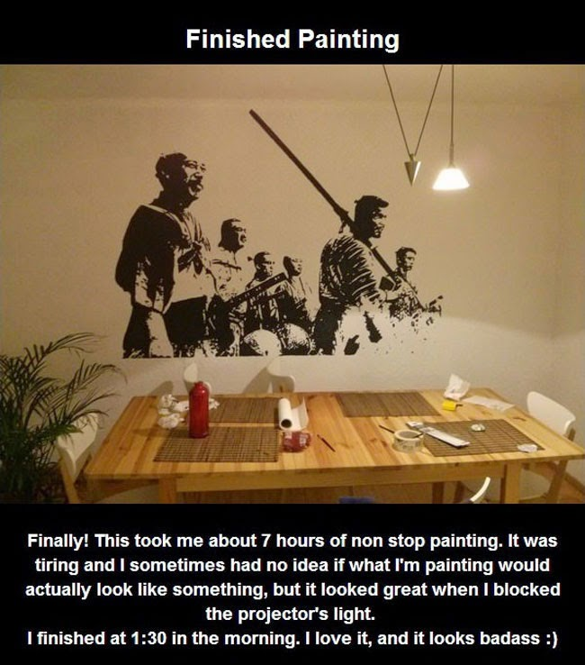 And That's How You Paint Something Amazing When You Have No Drawing Skills