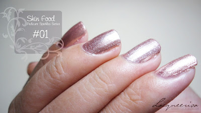 Skin Food Pedicure Sparkles Swatch/Review