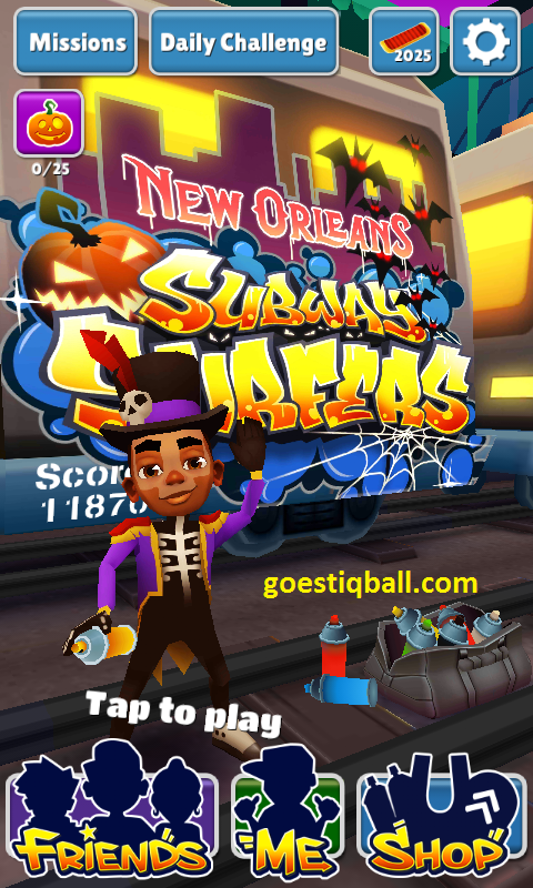 Cara Cheat Subway Surfers Tanpa Root Gratis