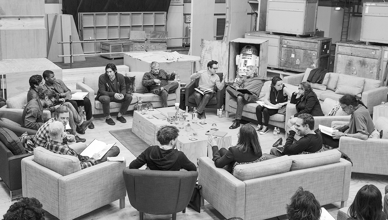 Star Wars 7 Cast read through